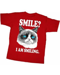 grumpy cat i am smiling. Fine Cat Grumpy Cat Boysu0027 I Am Smiling TShirt On Am P