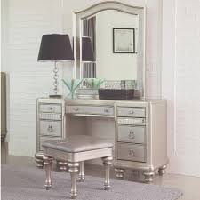 lex metallic platinum dressing table set spare room closet room