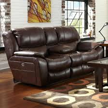 Loveseat With Cup Holders Reclining Port And Storage  Console Recliner Holder73