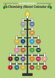 on the chemist tree s flasks to see that day s molecule along with a short