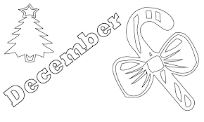 December Coloring Pages Kindergarten Coloring Pages For Adults