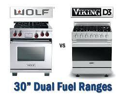 wolf range 30. Wolf Dual Fuel Range Vs Viking Inch Ranges With Gas . 30 E