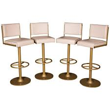 quality bar stools. Interesting Quality Four High Quality Bar Stools Made Of Metal In Golden Color For Sale Inside B