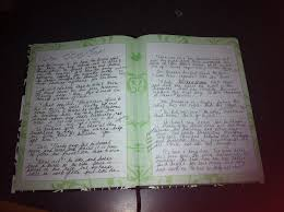 a gallery of writers journals ramona defelice long journal ss