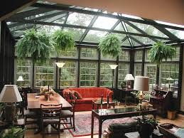 Small Sunroom Decorating Ideas With Black Themed Colour Using Square