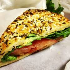 photo of noah s bagels seattle wa united states blt with avocado on