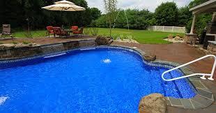 natural looking in ground pools. SwimmingPool Liner Replacement Natural Looking In Ground Pools