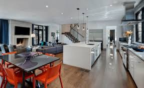 Modern Living Dining Room Open Floor Plans A Trend For Modern Living