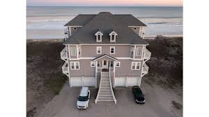 only 12 bedrm oceanfront great vista s of ocean and sound free linens wifi north topsail beach