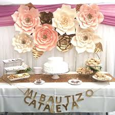 6 of 12 30 40cm paper flower backdrop wall large rose flowers diy wedding party decor