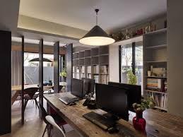 white home office design big white. Cool Modern Home Office Design Ideas For Multiple Users Solid Hardwood Desk Black E White Big