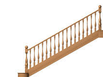 house stairs clipart. Fine House Wooden Stairs Isolated On White Vector Illustration Inside House Stairs Clipart U