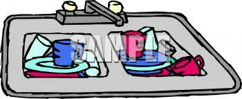 dishes in sink clipart. Wonderful Dishes Dishes In Sink Clipart 1 For T