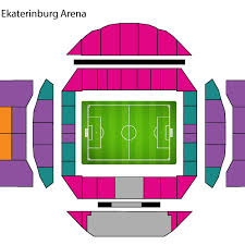 Ekaterinburg Arena Seating Chart Ticket Categories Stadiums Fifa Com