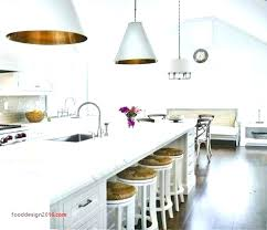pendant lights above island hanging over s height to hang