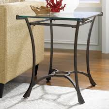 nightstands glass top metal end tables new coffee table amazing round and decor inspiration charming