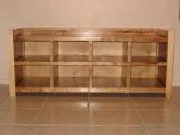 wooden shoe rack plans