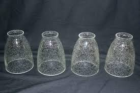 glass cylinder shade replacement seeded glass shade seeded glass shade replacement remarkable set of 4 seedy