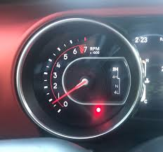 Red Dot Light On Dashboard Whats This Red Light For 2018 Jeep Wrangler Forums Jl