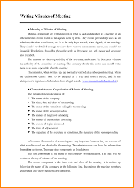 Format For Minutes Writing Minute Writing Formate Bushveld Lab