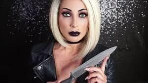 tiffany bride of chucky makeup tutorial