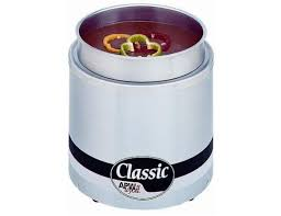 apw wyott classic round countertop food warmer with inset 8 1 4 x 12 1 2 inch 1 each