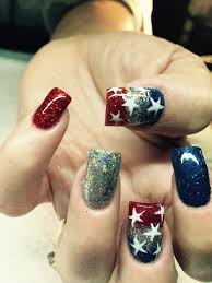Forth of July #nails #nailart | nail design | Pinterest | Nail ...