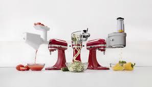 spiralize vegetables with kitchenaid mixer attachments