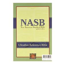 Nasb Ultrathin Reference Bible Black Genuine Leather Three Sixteen Publishing