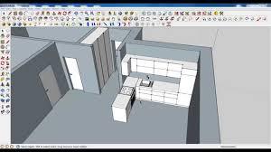 Kitchen Modeling Google Sketchup Tutorial Part 03 Kitchen Modeling Chimney Hood