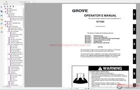 Operator Manual Grove Tms865