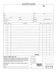 Ideas For Auto Repair Estimate Form Template With Format Sample ...