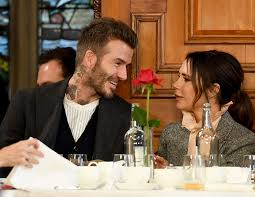 Victoria beckham is upset after son brooklyn decides to spend the whole festive season with his. David Beckham Kissed Victoria Beckham At London Fashion Week I M Dead