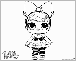 Lol Surprise Doll Coloring Pages Fabulous Queen Bee Lol Surprise