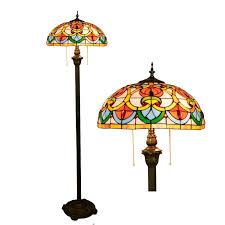 2019 whole stained glass modern floor lamp vintage mosaic lampada outdoor floor lighting lampada da terra moderna european style from lvzhilamp