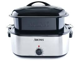 countertop roaster oven recipes aroma quart whole meal roaster oven magnify countertop roaster oven turkey recipes