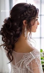 Half Up Half Down Wedding Hairstyles 65 Inspiration Trubridal Wedding Blog Wedding Hair Archives Page 24 Of 24