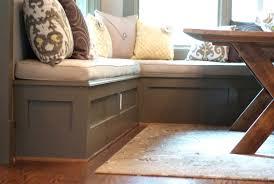 Built In Bench Kitchen Corner Kitchen Table With Storage Bench With Striking