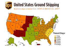 Ups Ground Map Worldwindtours Com