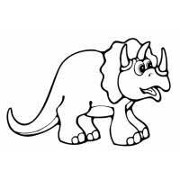 Disegno Di Dinosauro Brontosauro Da Colorare Per Bambini