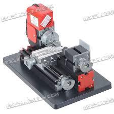 cnc metal motorized mini lathe machine