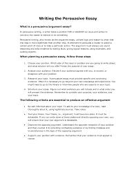 examples of persuasive essay persuasive essay format of an argumentative essay example essay