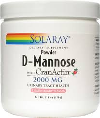Solaray <b>D</b>-<b>Mannose with CranActin</b>® -- 8 oz - Vitacost