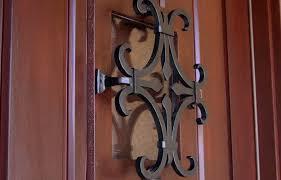 entry door with speakeasy