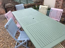 wooden outdoor furniture painted. Wooden Outdoor Furniture Painted P