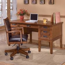 home office set. cross island large storage desk home office set