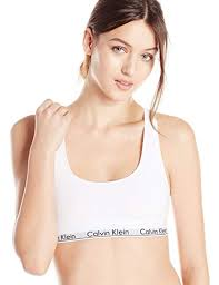 Calvin Klein Sports Bra Size Chart Calvin Klein Womens Modern Cotton Bralette Amazon Co Uk