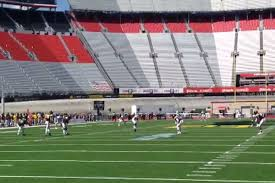 There Was Another Bristol Motor Speedway Football Game It