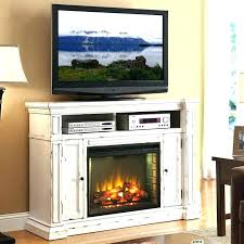 glass ember fireplace tv stand fireplace tv stand