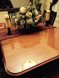 with table top glass pads our customer dora martin ramos of new york recently purchased a custom glass table top to protect her dining room table